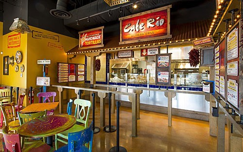 A Cafe Rio Restaurant