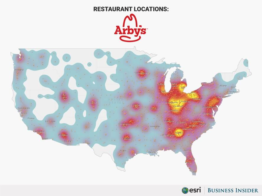 Arby's Is All Over The States!