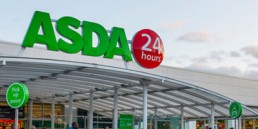 Asda Grocery Store In The Uk