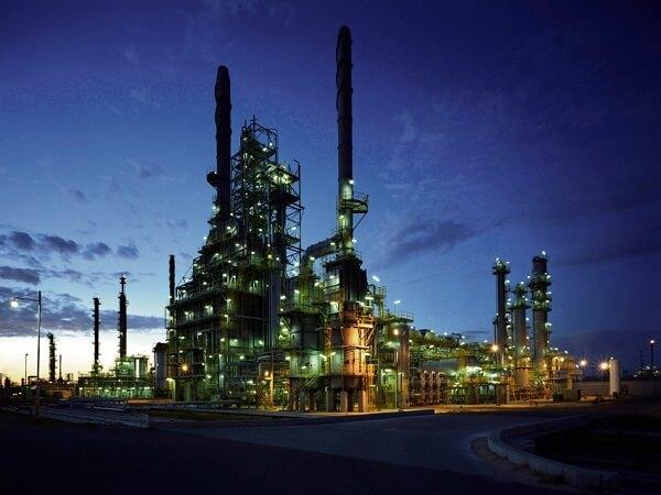 Bp's Oil Refinery In Kwinana