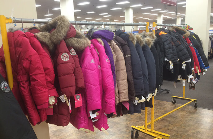 Burlington Still Sells Plenty Of Coats Off The Rack