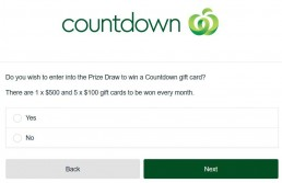 Deciding Whether To Enter Into The Countdownlistens Prize Draw