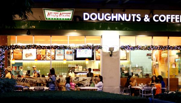 Famous Krispy Kreme Store In The Philippines