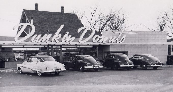 First Dunkin Donuts Store In Quincy, Ma