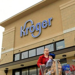 Front Of Kroger Store In The Usa