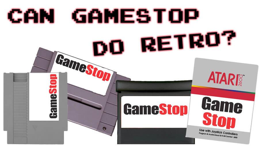 Gamestop's Moving Into The Retro Gaming Market