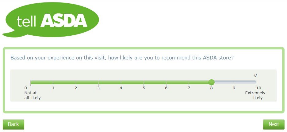 How Likely Is It That You'll Recommend This Asda Store