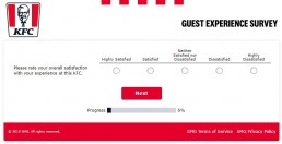 How Satisfied Were You Question At Yourkfc.co.uk