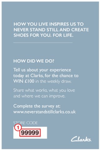 Invitation To Take Neverstandstillclarks Survey