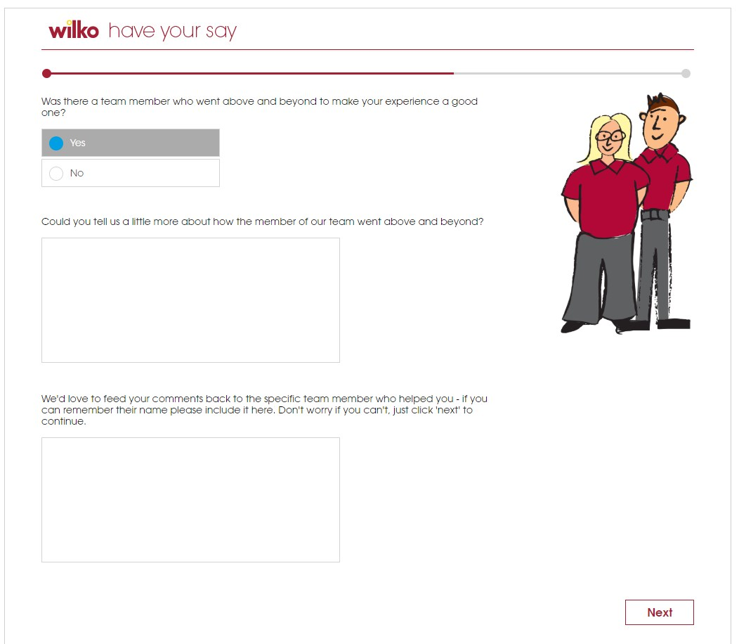 Is There Anything Else The Wilko Staff Could've Done To Improve Your Shopping Experience