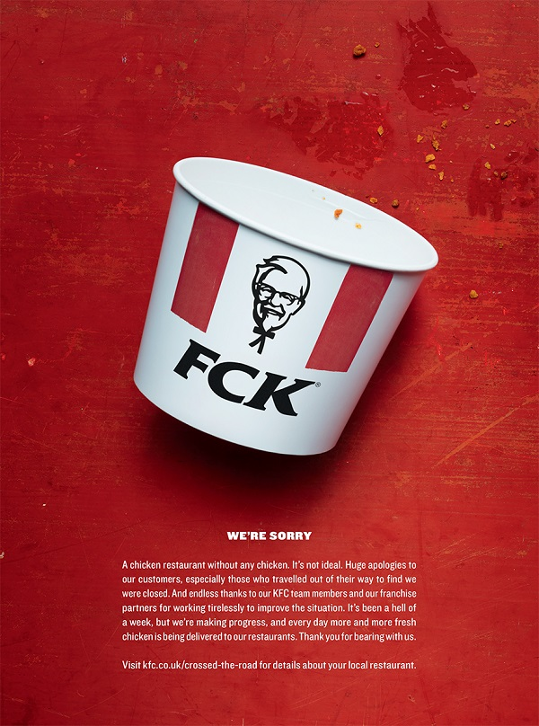 Kfc Uk Advertising Campaign