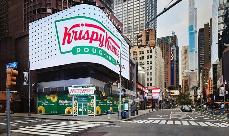 New Krispy Kreme Location In Times Square