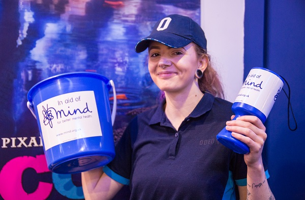 Odeon Staff Member Supporting Mind Charity
