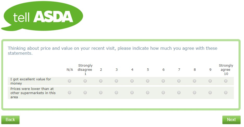 One Of The Final Questions On Www.tellasda.com Survey