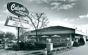 One Of The First Culver's Restaurants To Open