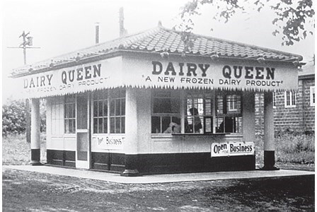 One Of The First Dairy Queen Stores