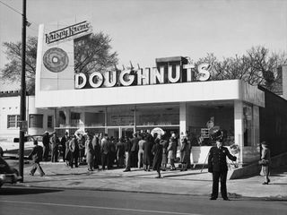 One Of The First Krispy Kreme Stores