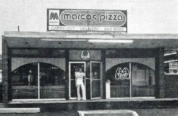 One Of The First Marco's Pizzas Back In The Day