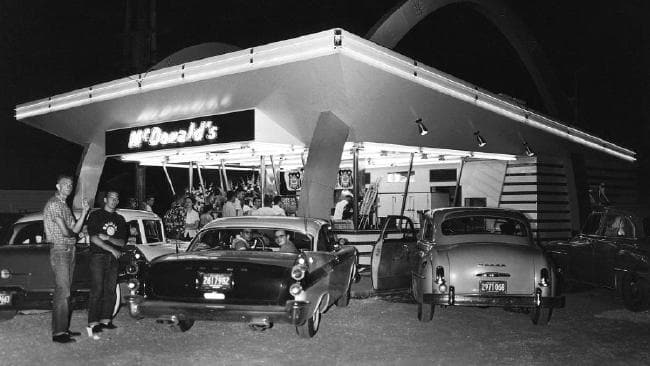 One Of The First Mcdonald's Restaurants In The Usa