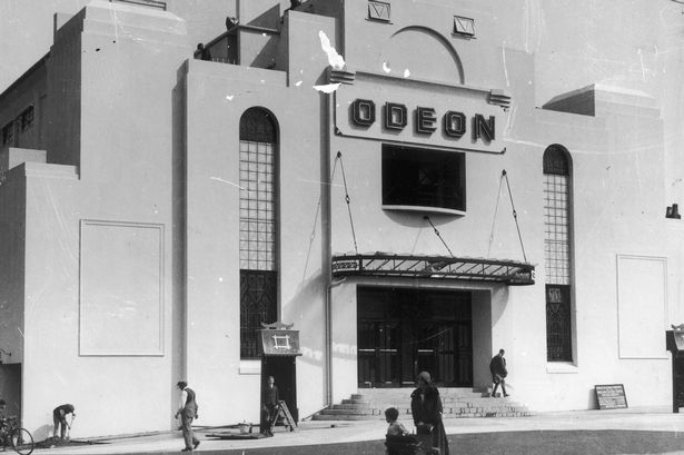 One Of The First Odeon Cinemas In The Uk