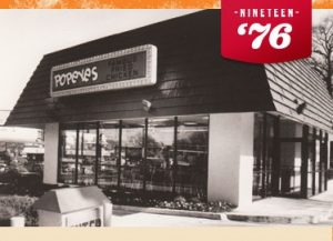 One Of The First Popeyes Restaurants Ever