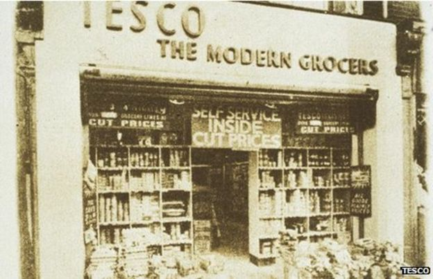 One Of The First Tesco Locations In The Uk