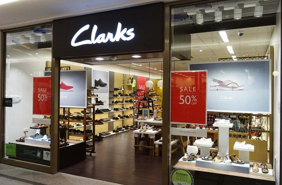 One Of The Many Clarks Stores In The Uk