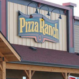 Pizza Ranch Store Front In Usa