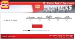 Screenshot From Hungry Jack's Survey Experience 6