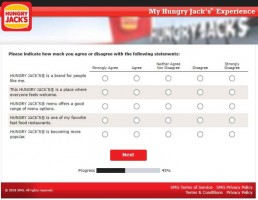 Screenshot From Hungry Jack's Survey Experience 8