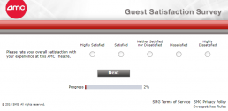 Screenshot Of Amc's Survey 2