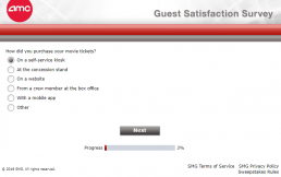 Screenshot Of Amc's Survey 3