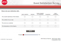 Screenshot Of Amc's Survey 5
