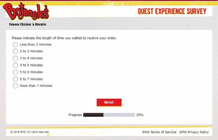 Screenshot Of Bojangleslistens Survey 8