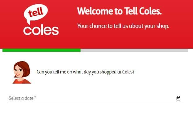 Screenshot Of Coles Survey 3