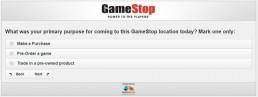 Screenshot Of Gamestop's Survey 11