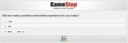 Screenshot Of Gamestop's Survey 12