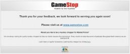 Screenshot Of Gamestop's Survey 15
