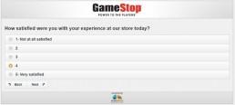 Screenshot Of Gamestop's Survey 2