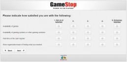 Screenshot Of Gamestop's Survey 3