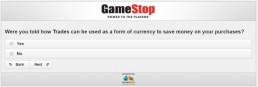 Screenshot Of Gamestop's Survey 7