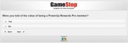 Screenshot Of Gamestop's Survey 9