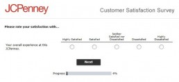 Screenshot Of Jcpenney Survey 2