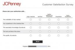 Screenshot Of Jcpenney Survey 3