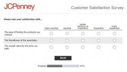 Screenshot Of Jcpenney Survey 4