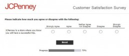 Screenshot Of Jcpenney Survey 6