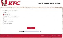 Screenshot Of Kfc's Feedback Form In Australia 2