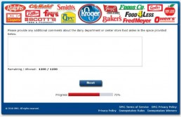Screenshot Of Krogeryfeedback Survey 13