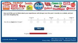 Screenshot Of Krogeryfeedback Survey 14