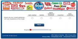 Screenshot Of Krogeryfeedback Survey 3